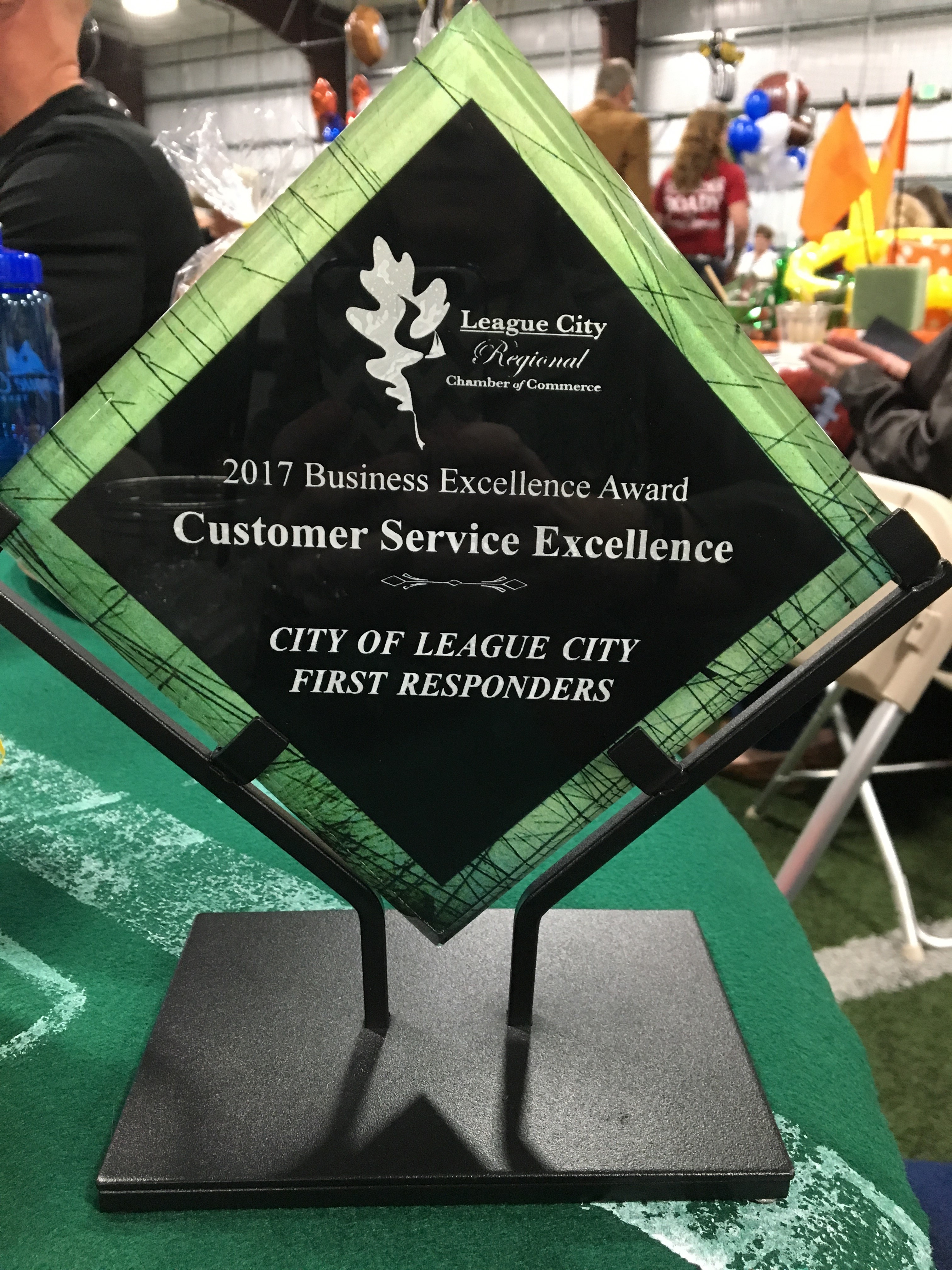 League City Regional Chamber of Commerce Award.jpg